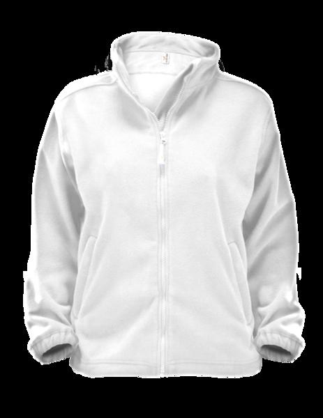 Mikina dámská Jacket Alberta bílá XXL