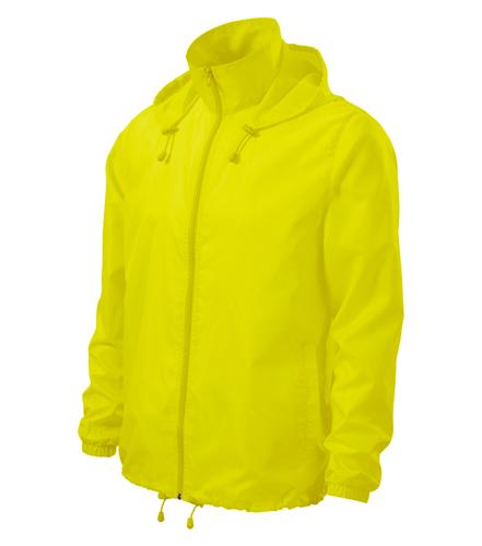 Větrovka Windy M neon yellow