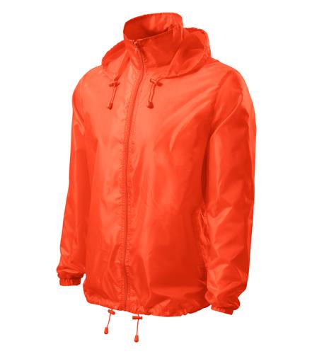 Větrovka Windy XXL neon orange