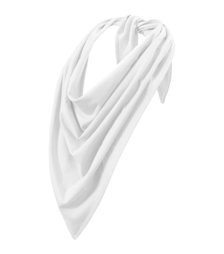 Šátek Fancy bavlněný bílá