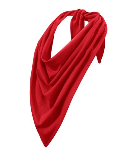 Šátek Fancy bavlněný červená