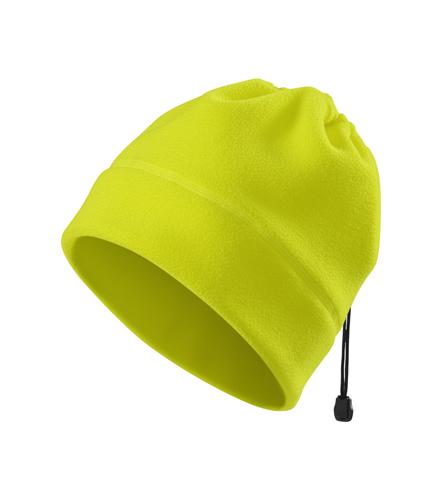 Reflexní Fleece Čepice Practic reflexní žlutá