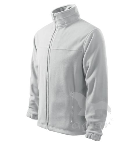 Bunda pánská Fleece Jacket XXXL bílá