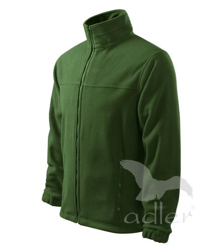 Bunda pánská Fleece Jacket XXXL lahvově zelená