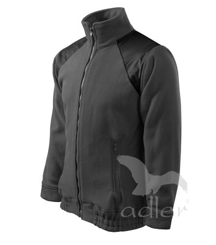 Bunda Fleece Jacket Hi-Q S ocelově šedá