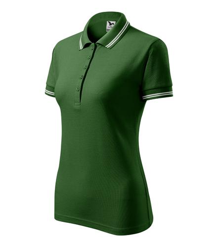 Polokošile dámská URBAN XXL lahvově zelená