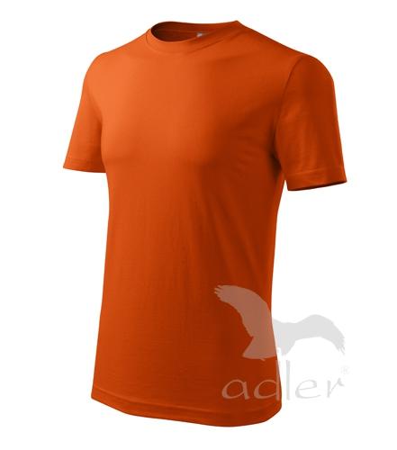 Tričko pánské barevné L oranžová
