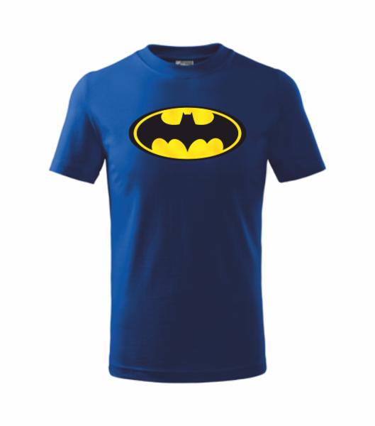 Tričko Batman XXL královská modrá