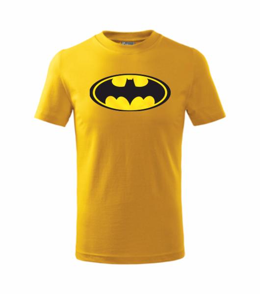 Tričko Batman XXL žlutá