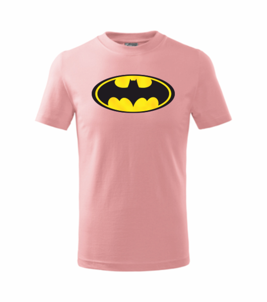 dětské tričko Batman růžová 110