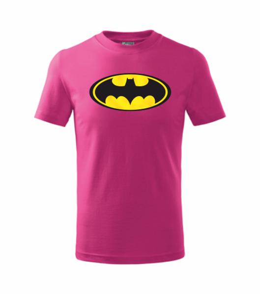 dětské tričko Batman malinová 110