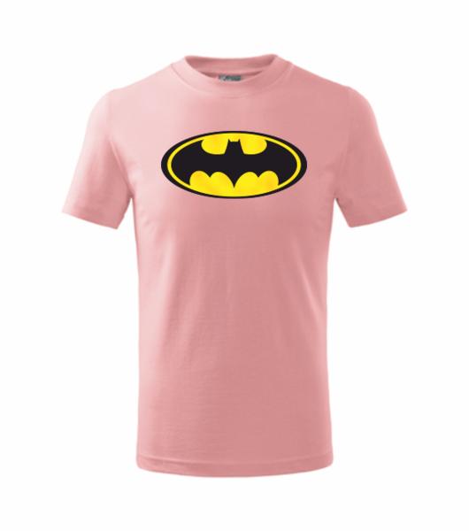 dětské tričko Batman růžová 134