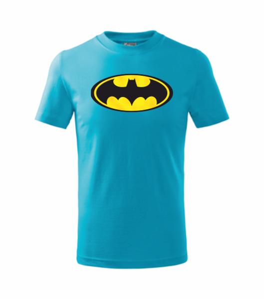dětské tričko Batman 146 tyrkysová