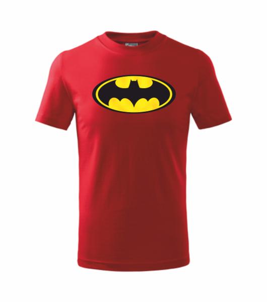 dětské tričko Batman 134 červená