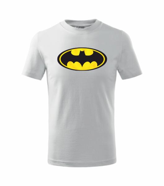 dětské tričko Batman 134 bílá