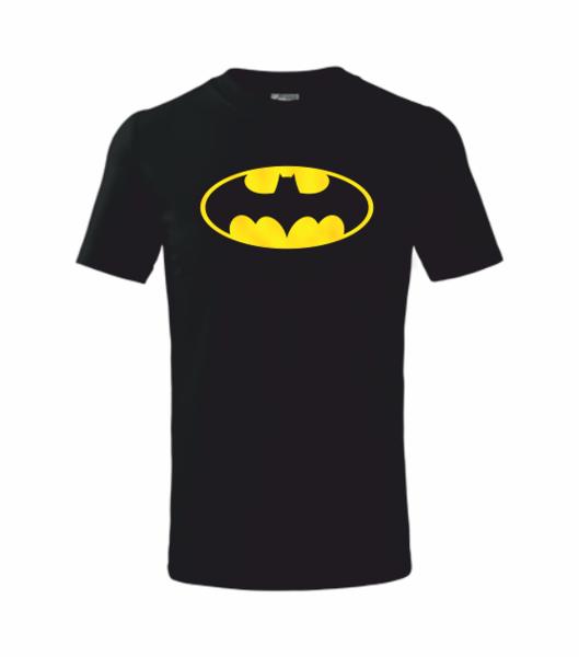 dětské tričko Batman černá 110
