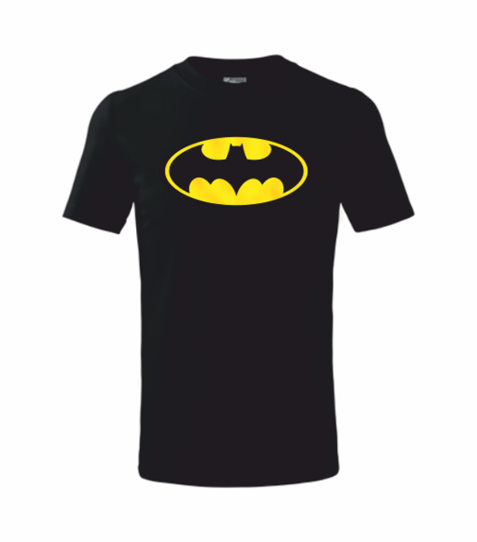 dětské tričko Batman černá 122