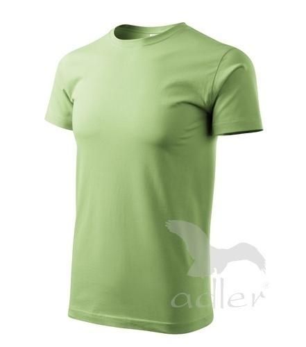 Tričko s vlastním POTISKEM XXL trávově zelená