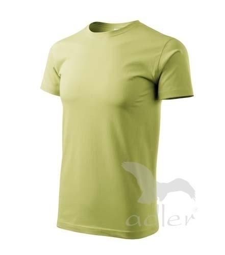 Tričko s vlastním POTISKEM XXL jemná zelená