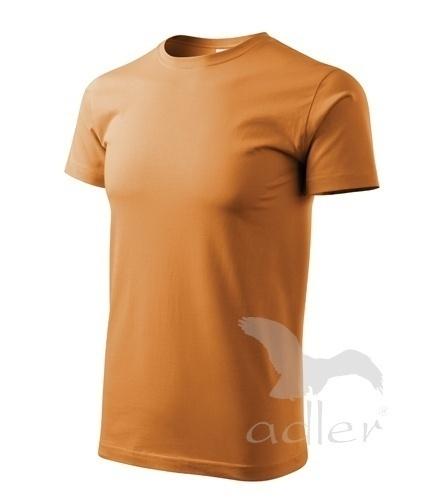 Tričko s vlastním POTISKEM XXL jantarová