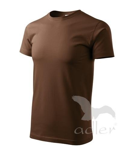 Tričko s vlastním POTISKEM XS čokoládová