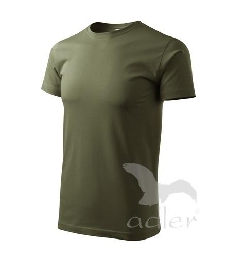Tričko s vlastním POTISKEM XXL military