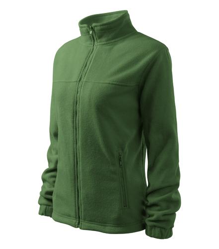 Dámský Fleece bunda Jacket L lahvově zelená