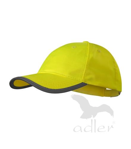 Reflexní čepice reflexní žlutá