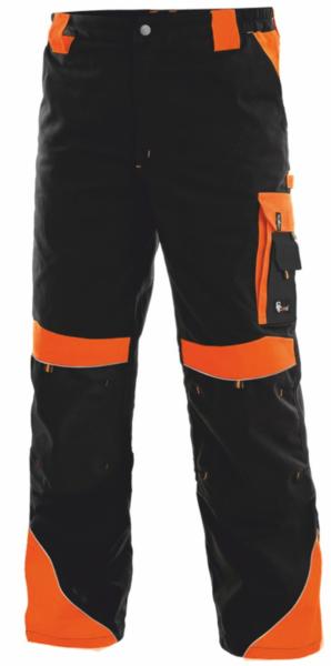 Pánské kalhoty SIRIUS BRIGHTON 64 reflexní oranžová