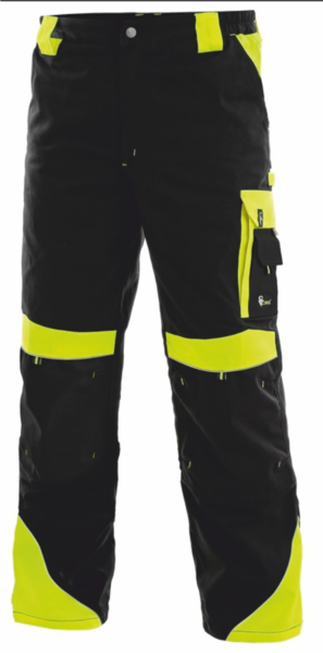 Pánské kalhoty SIRIUS BRIGHTON 64 reflexní žlutá