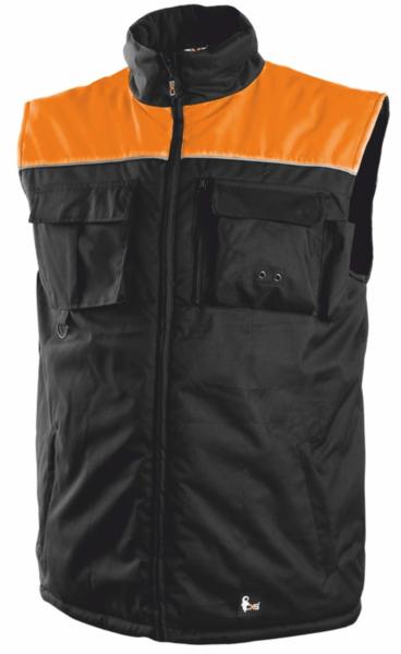Pánská zimní vesta SEATLE L reflexní oranžová