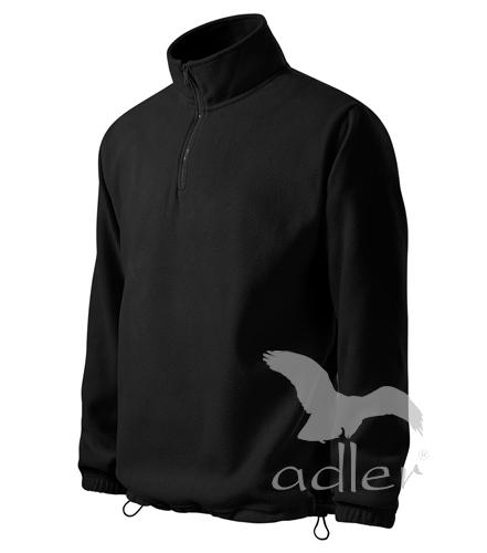 Mikina Horizont fleece pánská M černá