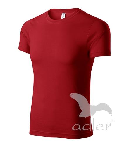Parade tričko unisex M červená