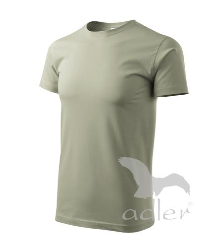 Tričko pánské BASIC XXL světlá khaki