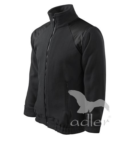 Bunda Fleece Jacket Hi-Q S ebony gray