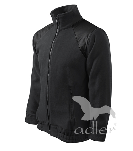 Bunda Fleece Jacket Hi-Q M ebony gray