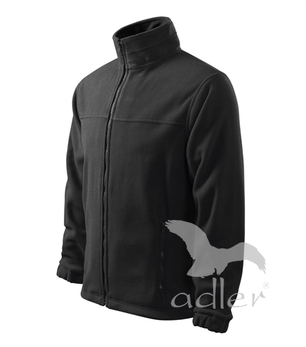 Bunda pánská Fleece Jacket S ebony gray