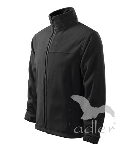 Bunda pánská Fleece Jacket L ebony gray