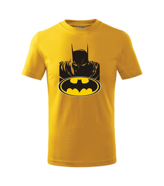dětské tričko s Batmanem žlutá 110