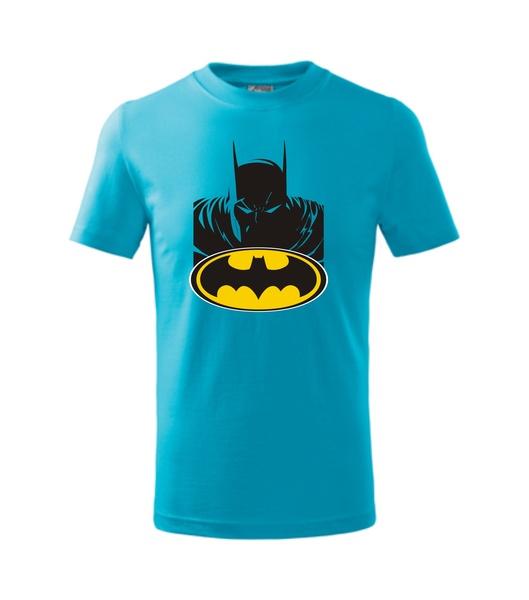 dětské tričko s Batmanem tyrkysová 134