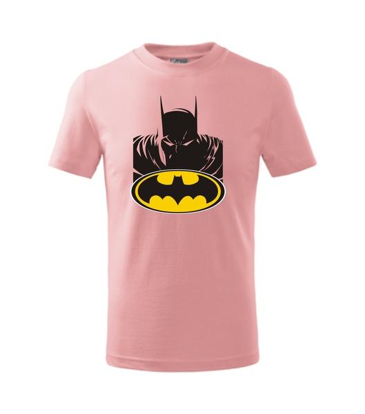 dětské tričko s Batmanem růžová 134