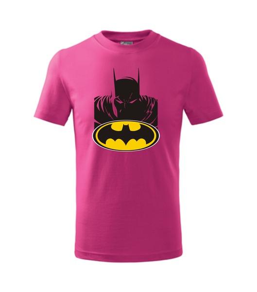 dětské tričko s Batmanem malinová 146