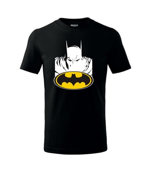 dětské tričko s Batmanem černá 134