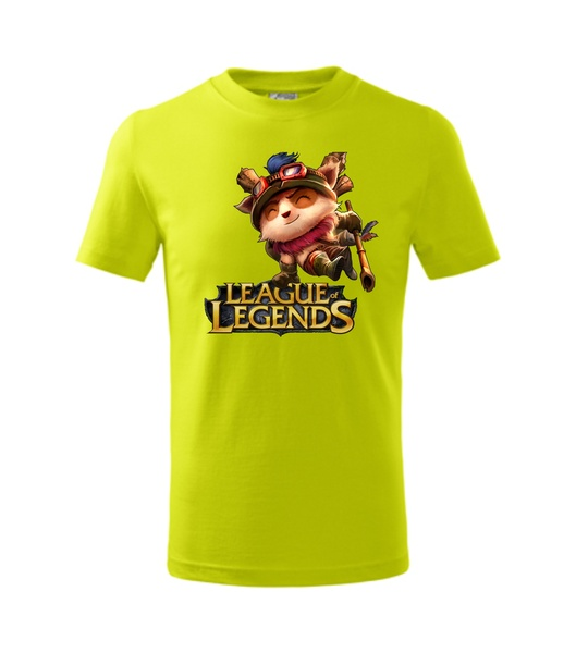 Tričko League of legends 2 XL limetková