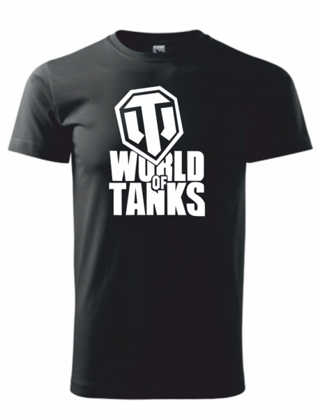Tričko World of tanks 4XL černá