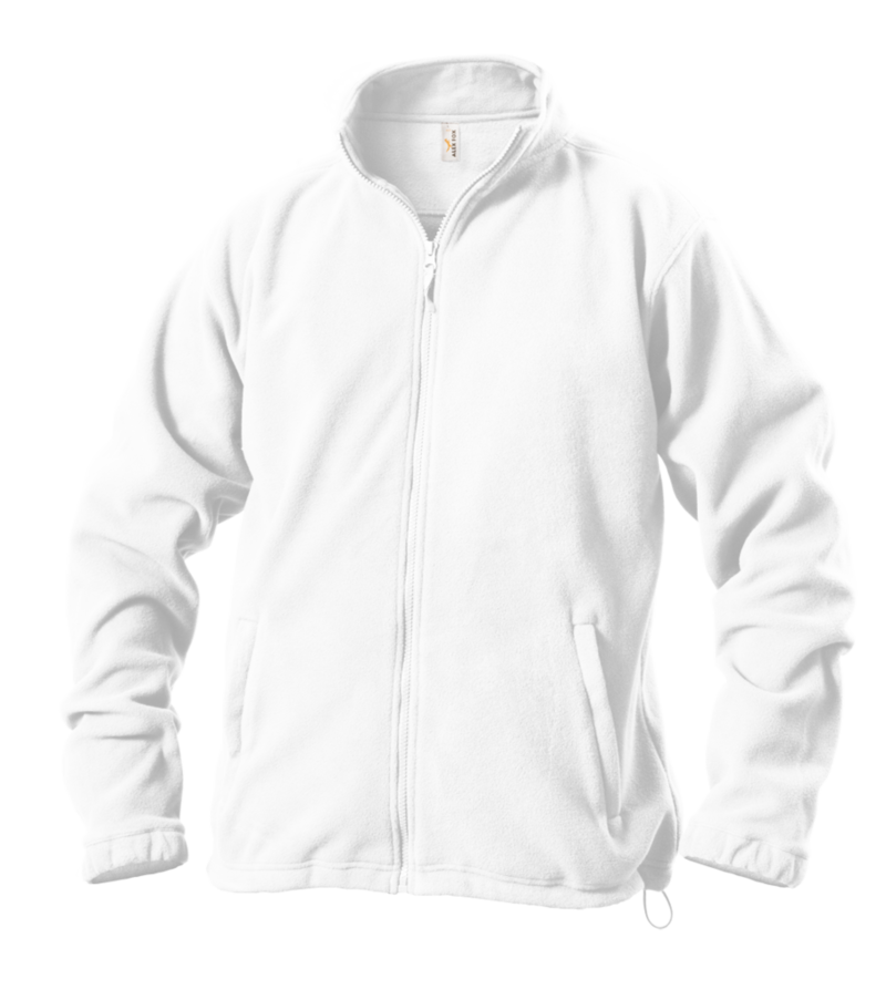 Pánská mikina fleece XXL bílá