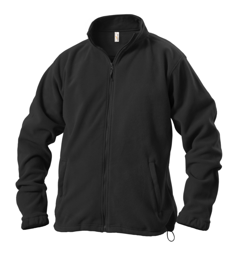 Pánská mikina fleece S černá