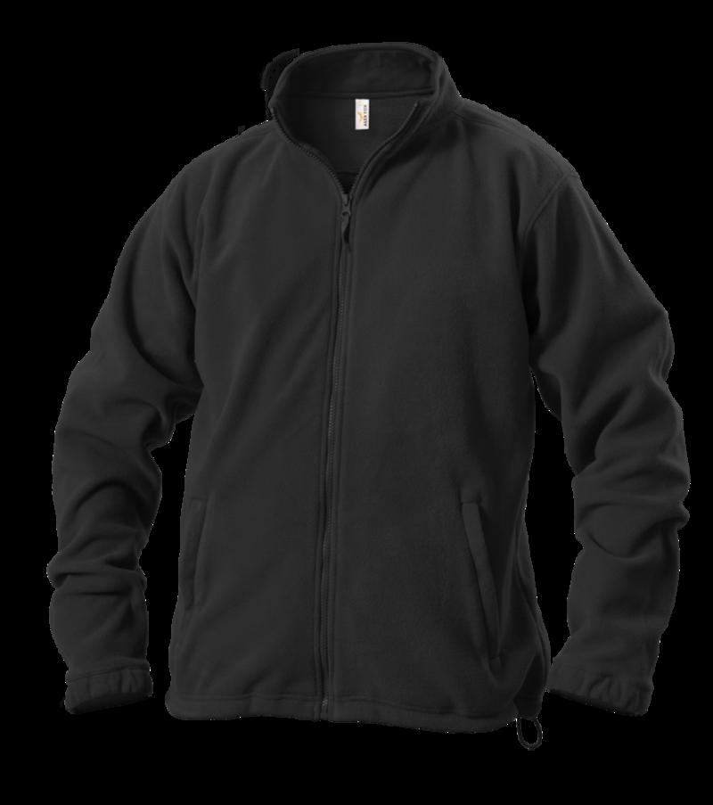 Pánská mikina fleece L černá