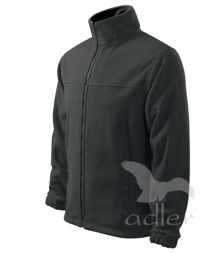Bunda pánská Fleece Jacket XXXL ocelově šedá