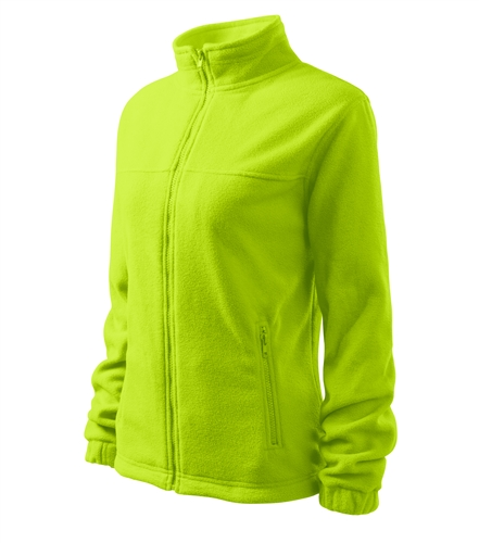 Dámský Fleece bunda Jacket S limetková